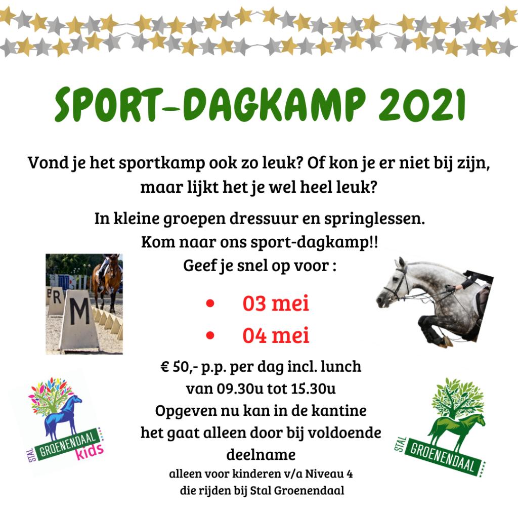 sport-dagkamp 2021